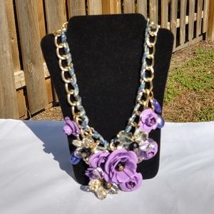 Jewelry - Rosy Pink - Purple Necklace
